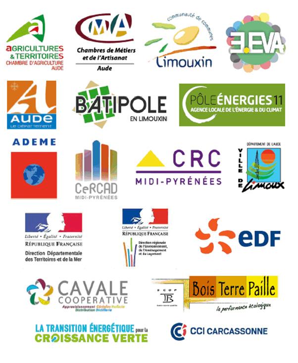 Les partenaires de l'atelier de l'innovation EDF à Limoux