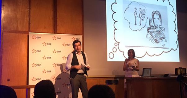 Témoignage de Franck Darthou à la remise des prix du concours EDF Pulse en Occitanie