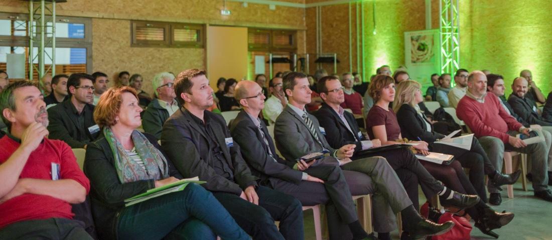 Auditoire de l'atelier de l'innovation EDF en Haute Vallée de l'Aude