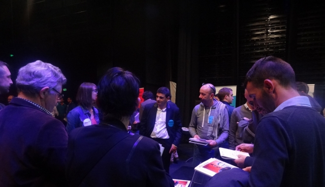 Rencontre avec les exploitants EDF à l'hydromeeting