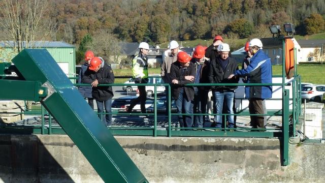 Hydromeeting - la visite de la centrale de Soeix