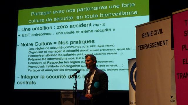 Intervention EDF-Hydro sur la sécurité à l'hydromeeting