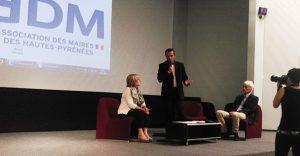 Table ronde rencontre de l'association des maires des hautes-pyrenées