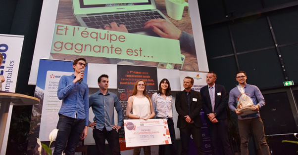 les lauréats du concours les entrepreneuriales