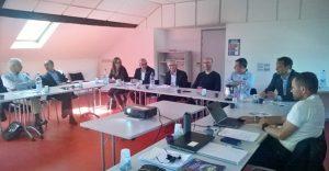 réunion EDF et Communauté de Communes du Haut-Béarn