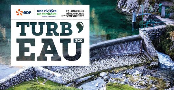 Logo Turbeau 5 le magasine de l'agence 1R1T
