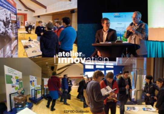atelier de l'innovation EDF