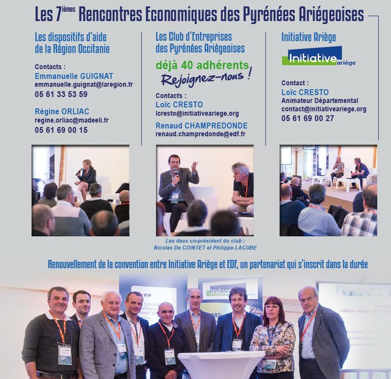 bilan des 7èmes rencontres économiques des Pyrénées Ariégeoises