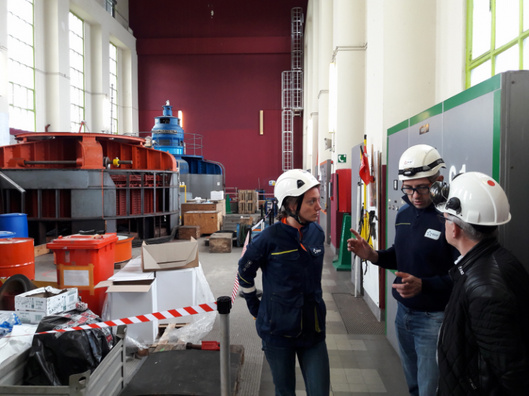 Visite centrale EDF Camon