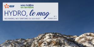 EDF Hydro Le Mag n°1
