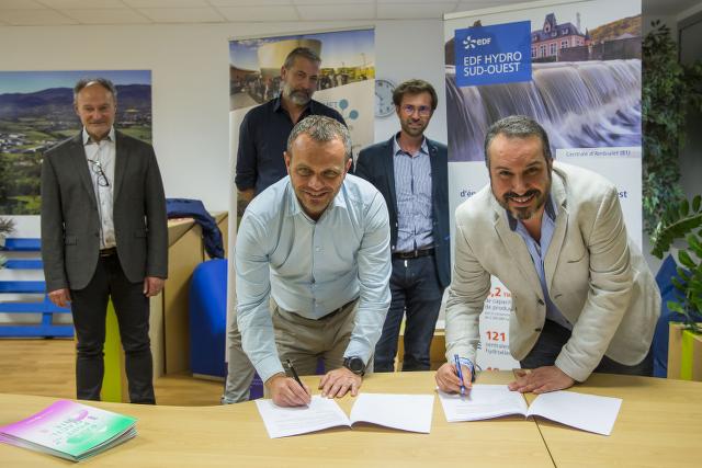 Signature partenariat EDF Numanis pour la solution Lisio