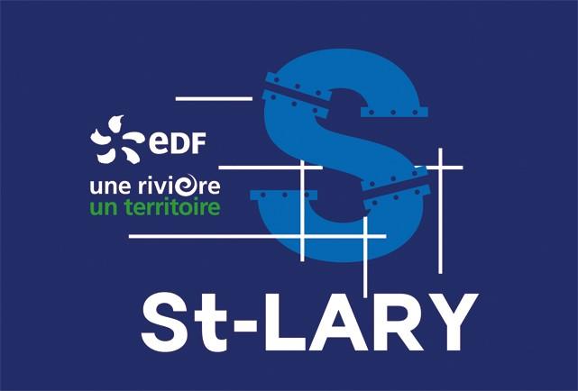 Logo EDF 1R1T Chantier de reconstruction des conduites-forcées de Saint-Lary