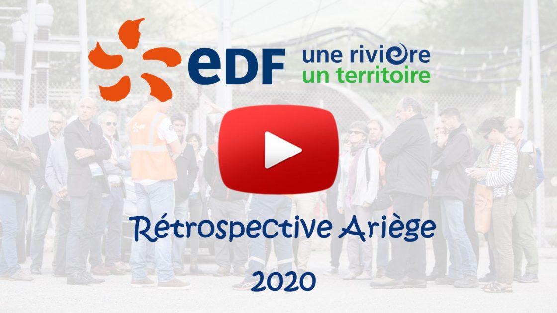 Retrospective Agence EDF riviere territoire Ariege 2020